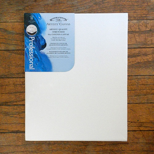 Winsor & Newton Artists Pre-Stretched Acrylic Primed Canvas