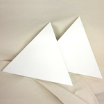 Triangle Shaped Stretched Canvas