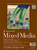 Strathmore Mixed Media Pad - 140 lb Paper
