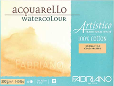 Fabriano Artistico Traditional White Watercolor Blocks