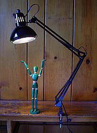 ALVIN Swing Arm Lamp
