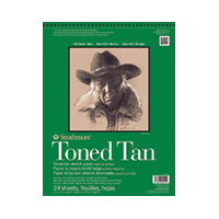 "9""x12"" Tan - 50 Sheet Pad"