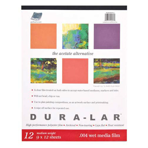 Grafix Wet Media Dura-Lar Pad