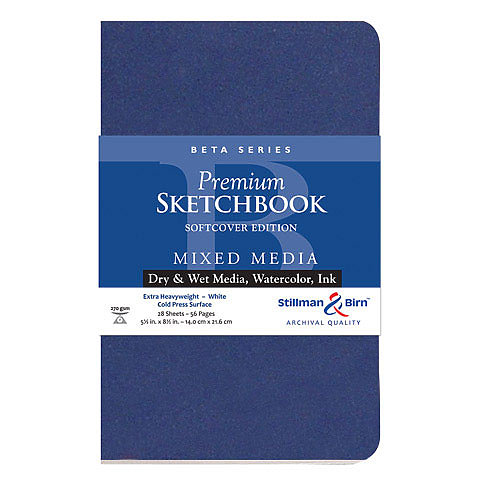 Stillman & Birn Beta Series Premium Soft-Cover Sketch Books