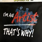 Attitude Aprons for Artists