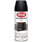 Krylon Chalkboard Finish Spray Black - 12oz