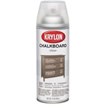 Krylon Chalkboard Finish Spray Clear - 12oz