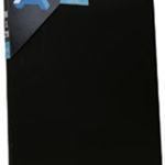 Classic Cotton Stretched Canvas – Black