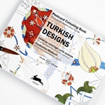 Pepin Postcard Colouring Postcard - Turkish Designs