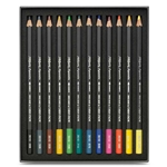 Caran D'ache Museum Aquarelle Watercolor Pencils - 12 Assorted Colors