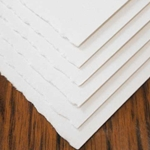 "Fluid 100 Watercolor Paper - 140lb Hot Press - 6 Sheet Pack 22""x30"""