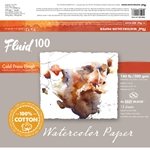 Fluid 100 Watercolor Paper Blocks - 140lb Cold Press