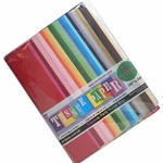 "Tissue Paper Rainbow Colors Bonus Bag 100 Sheets 20"" x 26"" Premium Quality"