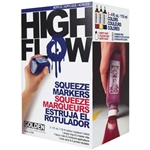 Golden High Flow 4oz Squeeze Marker Set