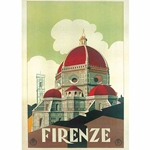 """Vintage Prints"" by Rossi of Italy- Firenze Cupola"