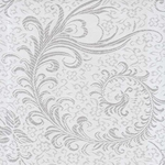 "Chinese Brocade Paper- Lucky Wedding White 26x16.75"" Sheet"