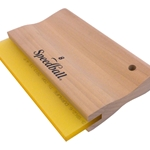 Speedball Yellow Urethane Blade Graphic Squeegee (70 Duro)