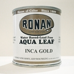 Aqua Leaf Metallic Paint 8 oz Cans