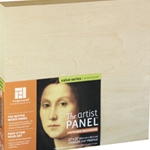 "Artist Panels - Unprimed Basswood - 1-1/2"" Profile"