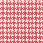 Tassotti Paper- Houndstooth Red 19.5x27.5 Inch Sheet