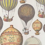 Tassotti Paper- Hot Air Balloons 19.5x27.5 Inch Sheet