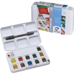 Van Gogh Watercolor Pocket Box Set of 12 Half Pans