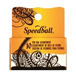 Speedball 10-Pen Nib Assorted Set