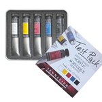 Sennelier Artists' Acrylic Test Pack - Set of 5