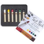 Sennelier Artist Quality Oil Pastels Test Pack - Set of 6