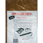 "Craf -T- Cork Sheets - 8.5""x11.5"" Two Sheets Per Pack"