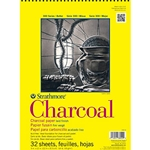 "Strathmore Charcoal Paper 32 Sheets - 11"" x 17"" 64 lb."