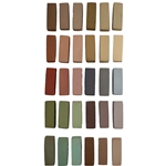 Terry Ludwig Pastels- 30 Umber Shadows and Shades