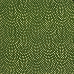 "Yuzen Gold Dots on Green 18""x24"" Sheet"