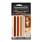 General Pencil Compressed Pastel Chalk