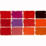 Diane Townsend Handmade Terrages Sets - Red Tones Set of 12 Pastels