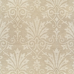 """NEW"" Rossi Decorated Papers from Italy - Gold Damask Flowers 28""x40"" Sheet"