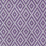 Zig Zag Steps Op Art (Optical Illusion) Paper- Silver on Purple
