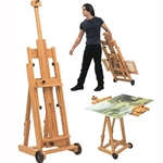 Richeson Belmont Collapsible Lyptus Wood Easel