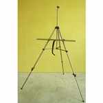 Deluxe Aluminum Travel Easel and Tripod Combo