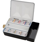 Schmincke Watercolor Travel Set of 8 Half Pans in a Metal Box