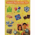 Origami DVD- Origami Fun for Kids, Too! with Vicky Mihara Avery