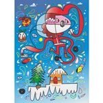 Jon Burgerman Holiday Card