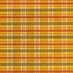 "Traditional Fabric Pattern (Yellow, Red, Black, and Gold) - 19""x26"" Sheet"