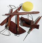 Professional Pottery Tool Set (Eight Piece)