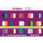 Sculpey III 30 Color Sampler