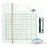Alvin Artist Sketch Board - Gridded White