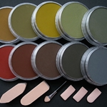 Pan Pastel Set of Ten - Extra Dark Shades Warm