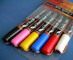 Chalk Ink Liquid Chalk Markers - Classic Set of Six Colors