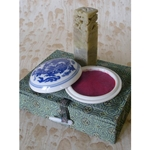 Chinese Chop (Chinese Ink Stamp) Set- Blank Dragon Stone with Vermilion Ink Pad