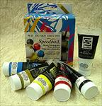 Speedball Watersoluble Block Printing Ink - Set of Six Colors